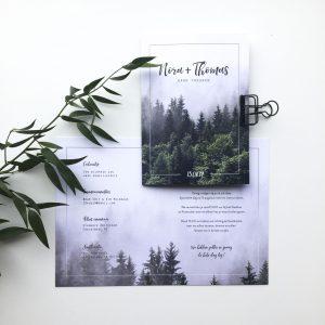 Scandinavische trouwkaarten